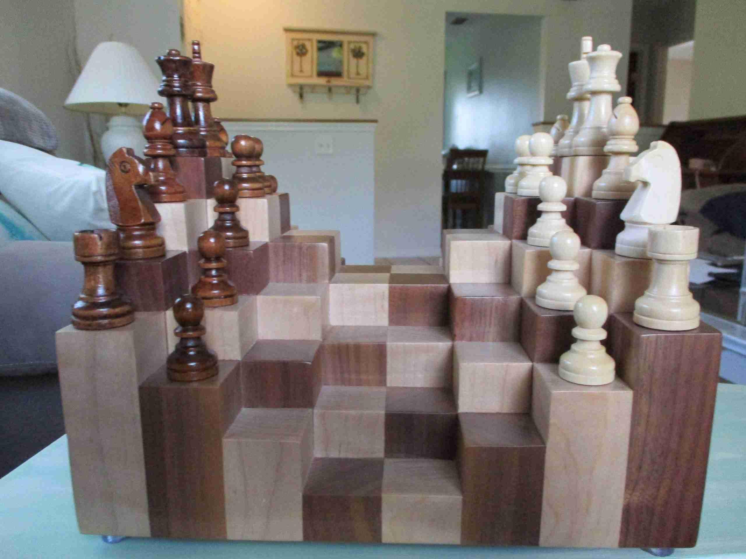 """Брэдли Любящий -  """"КОСМИЧЕСКОЕ"""" АНБ – в 4 ЧАСТЯХ Not-Ordinary-Chess-Four-scaled"""